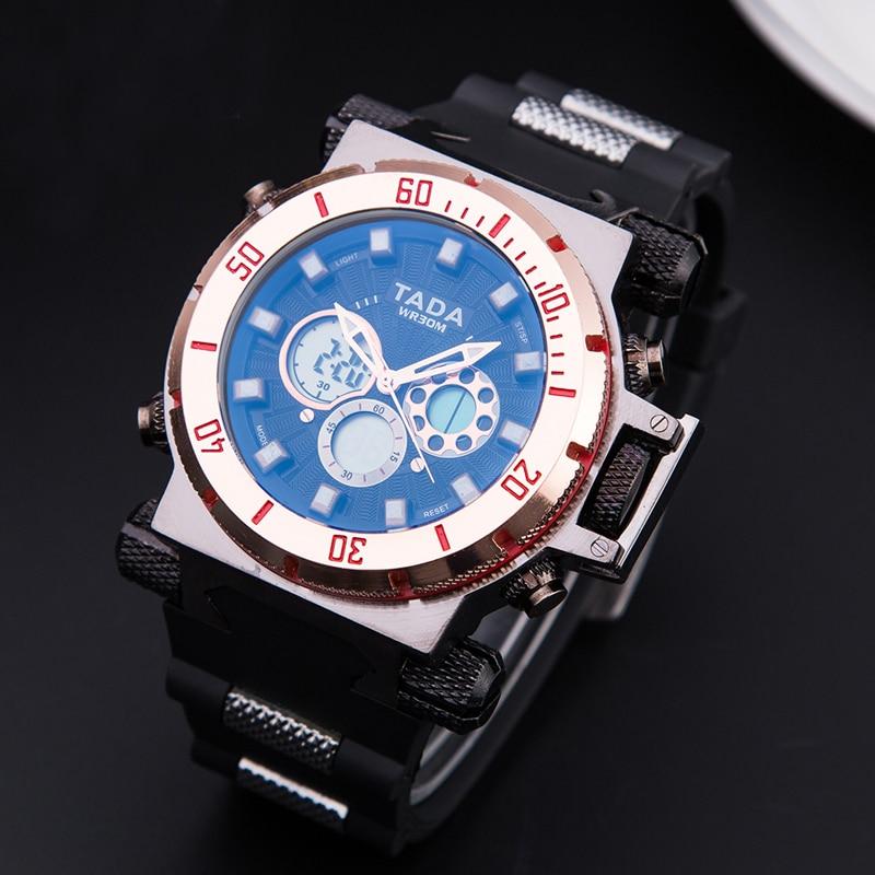 Naujas dizaineris viršų prabangus prekės ženklas TADA vyrų - Vyriški laikrodžiai - Nuotrauka 6