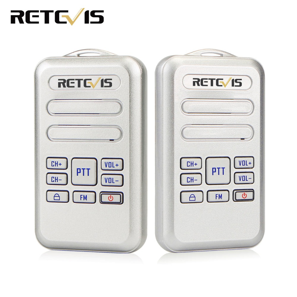 2pcs Retevis RT20 Mini Walkie Talkie 2W UHF 400-470MHz FM Business Radio Two Way Radio HF Transceiver2pcs Retevis RT20 Mini Walkie Talkie 2W UHF 400-470MHz FM Business Radio Two Way Radio HF Transceiver
