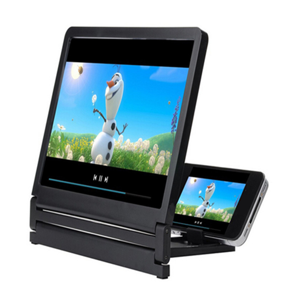 Universal Lightweight 3D Movie Screen Magnified Vivid Magnifier Screen HD Projector Phone Holder Mobile Phone Table