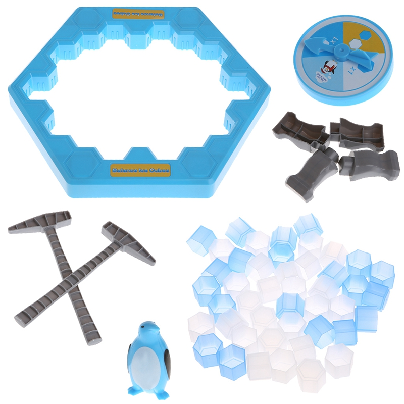 Ice Breaking Save The Penguin Trap Board Family Fun Game Interaction Toy Gift Educational Children Creation Toy interactive ice breaking table penguin trap children funny game penguin trap activate entertainment toy family fun game with box