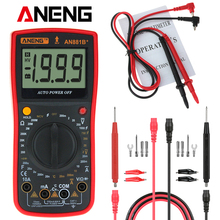 ANENG AN881B+ Digital Multimeter AC DC Voltage Current Capacitance Resistance Temperature Diode Triode Tester Non-contact Voltag цена в Москве и Питере