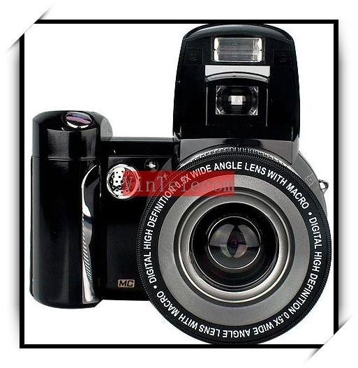 12MP DSLR camera 0.5x wide-angle lense DC510T digital camera