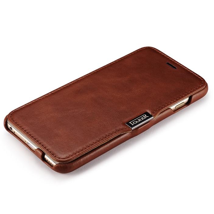 Γνήσιο ICARER Ultra Thin Vintage Flip Cover για iPhone6 - Ανταλλακτικά και αξεσουάρ κινητών τηλεφώνων - Φωτογραφία 3