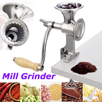 Manual Grinder Mill Hand Crank Grinding Kitchenware for Coffee Beans Stainless Steel Mill Grinder