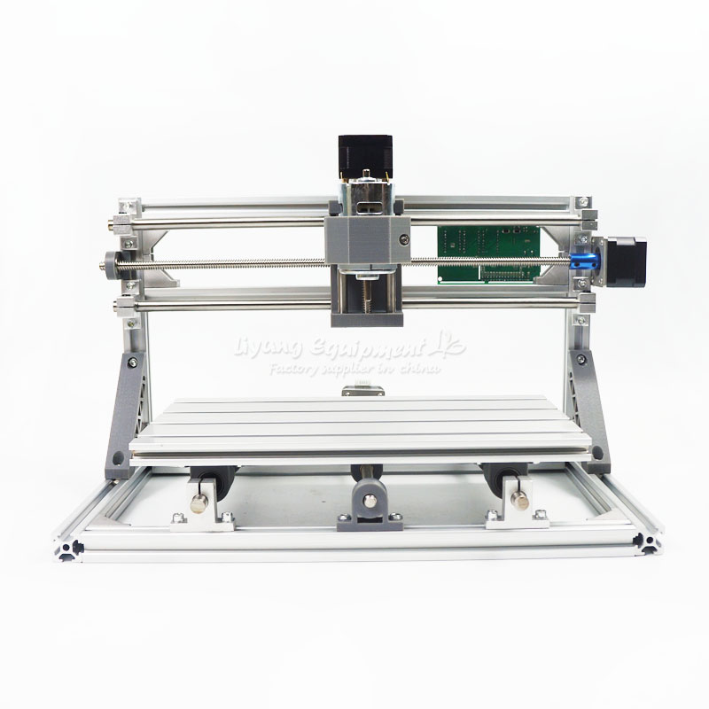 LY mini CNC router 1610/2418/3018 engraving machine Pcb Milling Machine Wood Carving with GRBL control and laser head