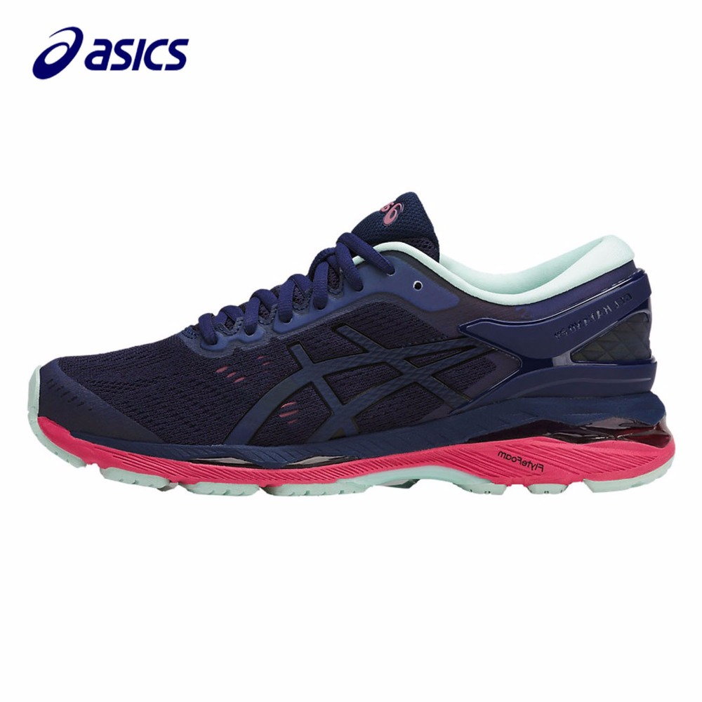 Orginal ASICS New Women Running Shoes Breathable Stable Shoes Outdoor Tennis Shoes Classic Leisure Non-slip T7A8N-4990