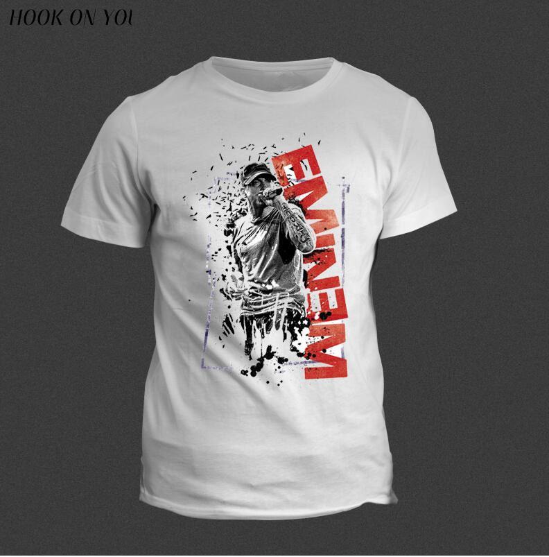 Eminem T Shirt Bad Meets Evil rap rock Men's T-Shirt For Men New Short Sleeve Casual Top Tee Camisetas Masculina