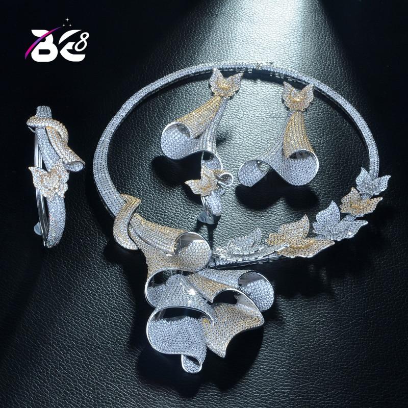 Be 8 Unique Luxury Geometric Design African Cubic Zirconia Nigerian Jewelry Sets for Women Wedding Beads Bridal Jewelry SetsS330Be 8 Unique Luxury Geometric Design African Cubic Zirconia Nigerian Jewelry Sets for Women Wedding Beads Bridal Jewelry SetsS330