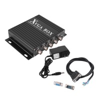 Caliente XVGA caja CGA EGA RGB RGBS entradas RGBHV a VGA Monitor Industrial convertidor de vídeo GBS-8219 D5219A envío gratis