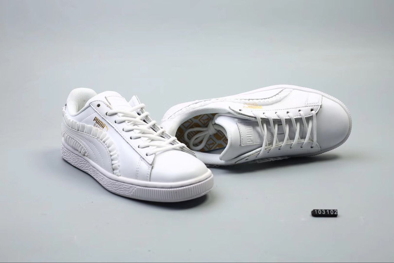 grand choix de b20e8 104cb 2018 New Arrival PUMA basket laser series of sexy lace women's shoes sport  badminton shoes 36 39-in Badminton Shoes from Sports & Entertainment on ...