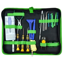 22 in 1 Professional Screwdriver Soldering Iron Knife Pliers Tweezers Disassembly Tools Set for Laptop SAMSUNG Macbook PDA
