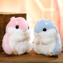 Mini Hamster Keyrings Keychains Faux Rabbit Fur Pompom Fluffy Trinkets Car Handbag Pendant Key Chains Ring Holder K66 mini hamster keyrings keychains faux rabbit fur pompom fluffy trinkets car handbag pendant key chian ring holder