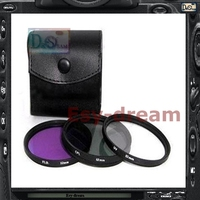 72mm 72 UV CPL FLD Filter Case Fluorescent Light Lens Filter Kit Set For Camera DSLR