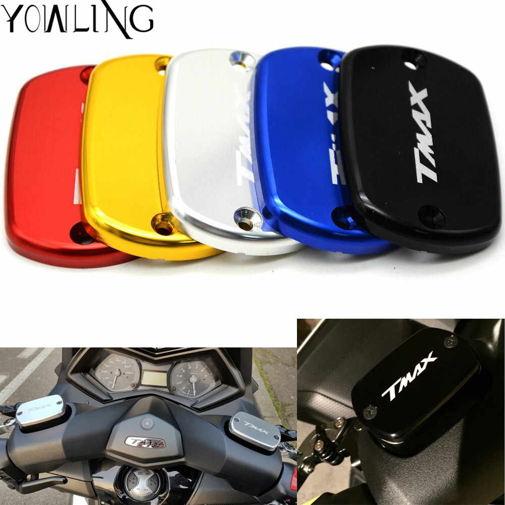 Motorcycle CNC Brake Fluid Reservoir Cap Cover For YAMAHA T-MAX530 2012 2013 2014 2015 T-MAX500 2011 2010 2009 2008 TMAX 530 500