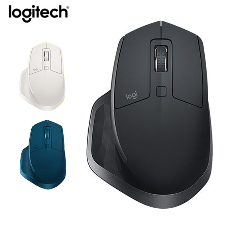 776c309a580 Logitech MX Master 2S Wireless Bluetooth Unifying dual mode Mouse ,4000DPI  Laser rechargeable Ergonomic business Computer mouse -in Mice from Computer  ...
