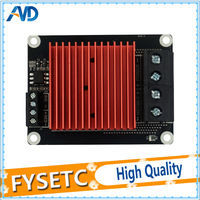 1pc Heatbed Extruder 30A 5 24v Red Huge Heated Sinks Heating Controller MOS Module MKS MOSFET