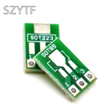 20 шт./пакет интервал 1,5 мм SOT223 и SOT89 очередь dip адаптер пластина, универсальная доска
