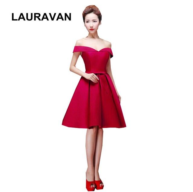 dbd5854f706 Traje moderno de mariage corto dama de honor vino rojo adulto damas de honor  vestidos de