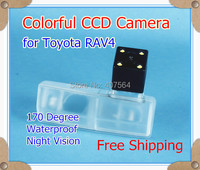 Free Shipping HD CCD With 4 LEDs Car Rear View Camera Reverse Parking Back Up Camera