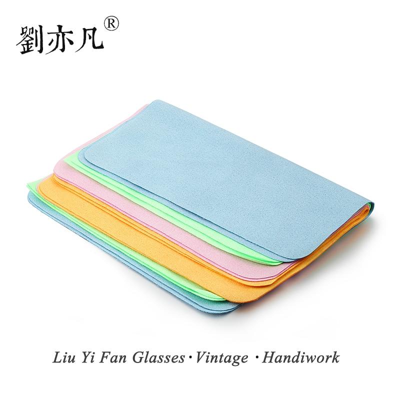 free shipping 10PCS Eyeglass font b Cleaner b font Microfiber Cleaning Cloth for font b Screens