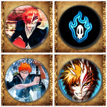 Japanese Anime Bleach Display Badge Fashion Cartoon Figure Kurosaki Ichigo Brooches Pin Jewelry Accessories Gift japanese anime bleach display badge fashion cartoon figure kurosaki ichigo brooches pin jewelry accessories gift