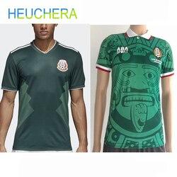 HEUCHERA 1988 Limited Edition Commemorative Edition Mexico Soccer Jerseys 2018 Retro Jerseys Home Mexico Football