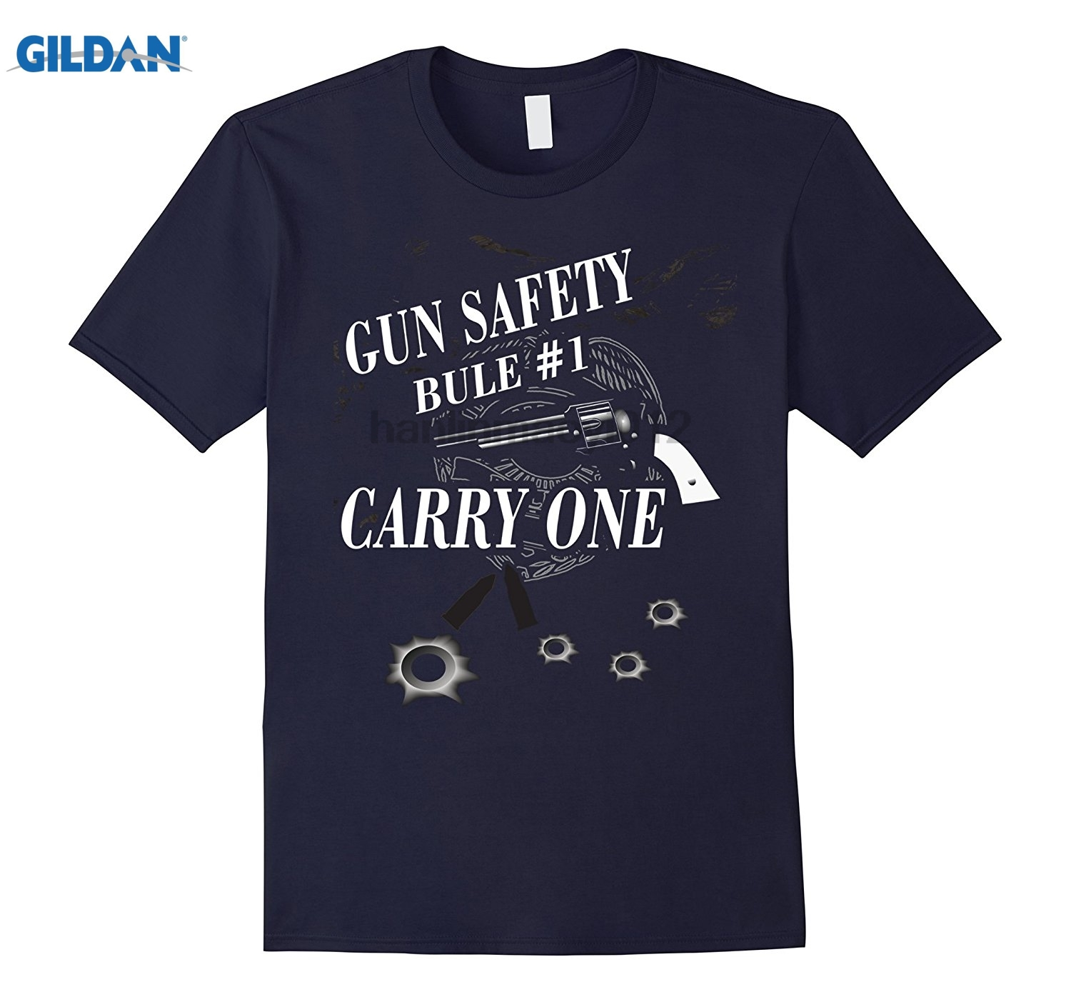 GILDAN Gun Safety Rule # 1 Carry One Novelty T-Shirt Dress female T-shirt ...