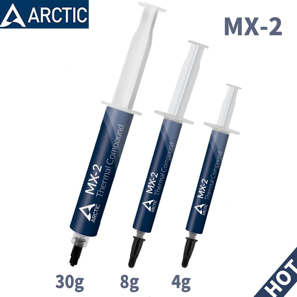 ARCTIC MX-2 4g 8g 30g processor CPU GPU COOLER Thermal Compound Thermal Grease Conductive Heatsink Plaster fan Thermal paste цена и фото
