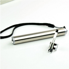 Mini Waterproof Aluminium Alloy LED Flashlight Portable AAA Battery XML Cree Flashlight Moon Shape Torch Keychain