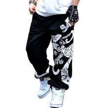 2017 new spring street baumwolle jogginghose männer hip hop druck designer jogger hosen männer
