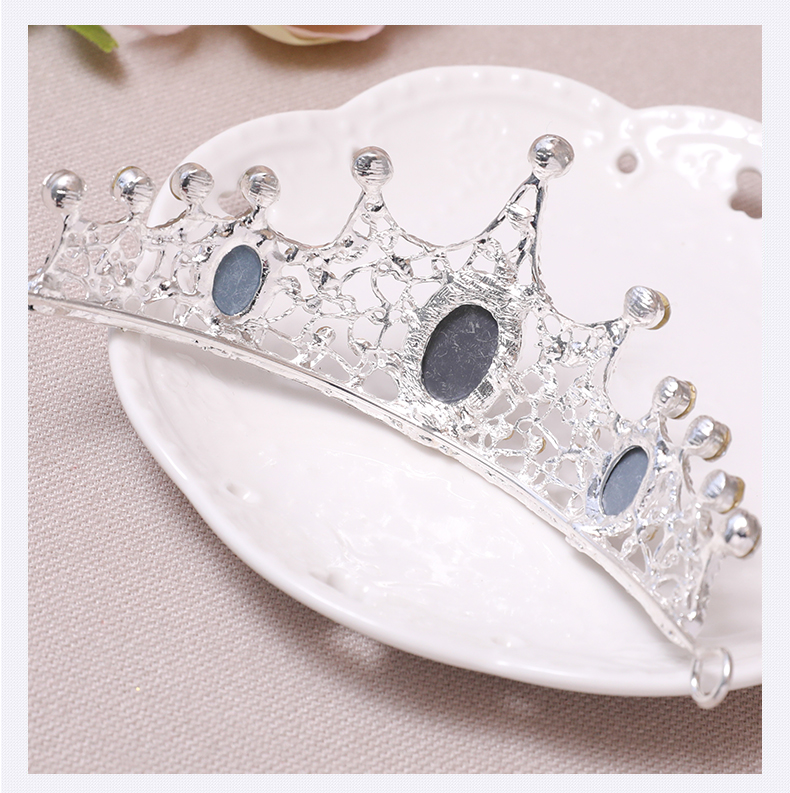 SHOSIXUAN Child crown princess lovely water drill girl hair ornament - Fashion Jewelry - Photo 6