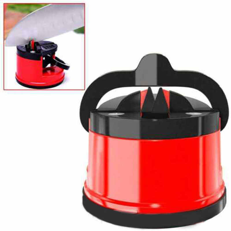 Household Kitchen Easy and Safe Knife Sharpener Practical Durable High Quality Suction Cup Innovate Sharpening Tool