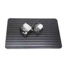 Magic Fast Unfreezing Of food Thawing Defrost Tray Meat Rib Defrosting Board Food In Minutes Aluminum