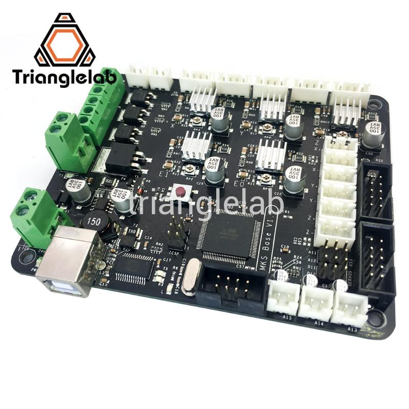 Trianglelab 3d printer 3D Printer TOUCH + MKS BASE V1.5 compatible Mega2560&RAMPS1.4 combo control board RepRap Mendel i3 3d printer motherboard mks base v1 3 one board ramps1 4 reprap compatible