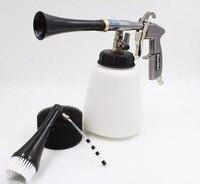 Z 010 high quality silicone pipe tube high pressure black tornador gun for car washing (rubber pusle)