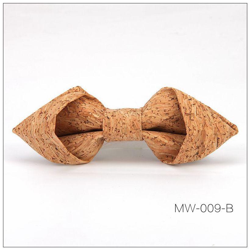 New Handmade Wooden Cork Bamboo Bow Tie Bowtie Men's Cravat 86