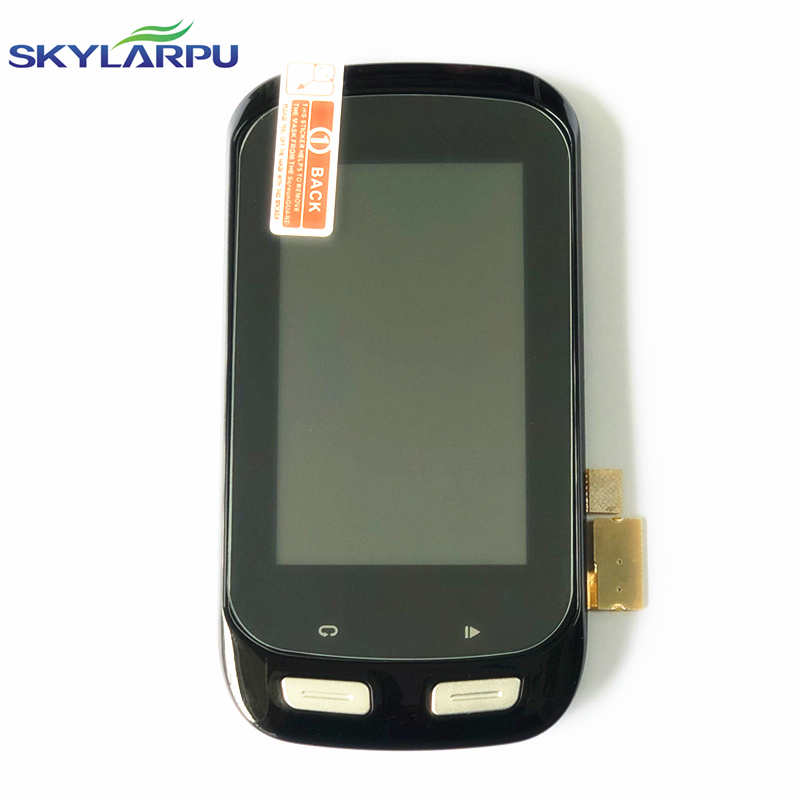 """skylarpu 3.0"""" LCD Screen for GARMIN EDGE EXPLORE 1000 Bicycle stopwatch GPS LCD display Screen with Touch screen digitizer"""