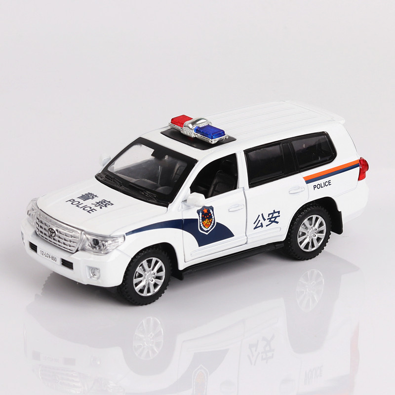 Высокая моделирования 1:32 полицейский внедорожник литья под давлением сплава металла роскошь гоночный автомобиль модели коллекции задержи...