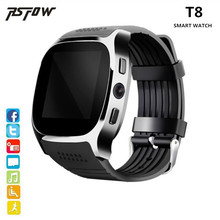 RsFow T8 Bluetooth Smart Watch Support SIM TF Card With Camera Sports Wristwatch Music Player For Android phone PK M26 DZ09 A1