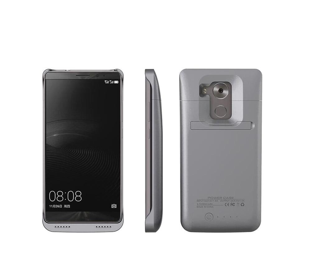 Цена за 4500 мАч Питания Клип Батареи Чехол для Huawei mate8 mate 8 внешний Мобильный Телефон Power Bank Зарядное Устройство Резервного Копирования Стенд Держатель Назад случае