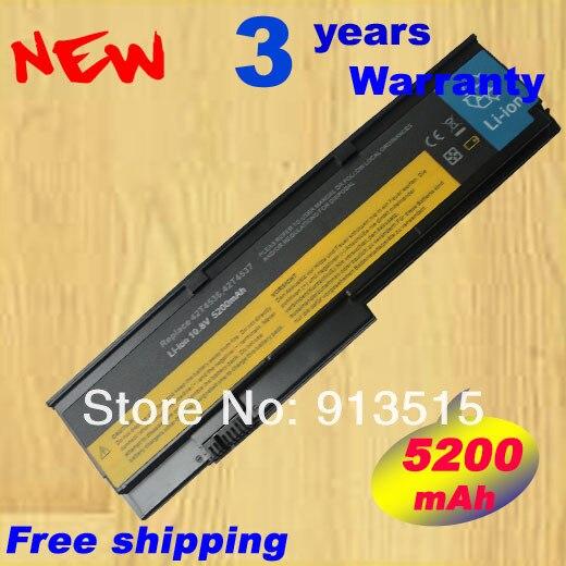 5200mAh Battery For IBM Lenovo ThinkPad X200 X200s X200si X201 X201S X201i 42T4543 42T4646 42T4647 42T4648 42T4650 43R9255