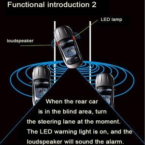 Image 3 - LAWR Espejo con sensor de microondas, BSD BSM, función de cabezal de potencia, punto ciego, novedad de 2019