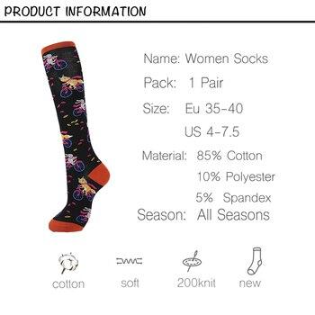 Knee High Women's Long Socks