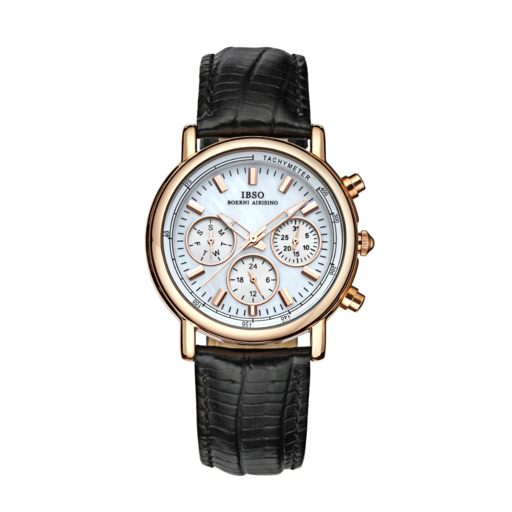 IBSO Elegant and Casual Watches for Women Mother of Pearl Dial Waterproof Wrist Watches D6803GIBSO Elegant and Casual Watches for Women Mother of Pearl Dial Waterproof Wrist Watches D6803G