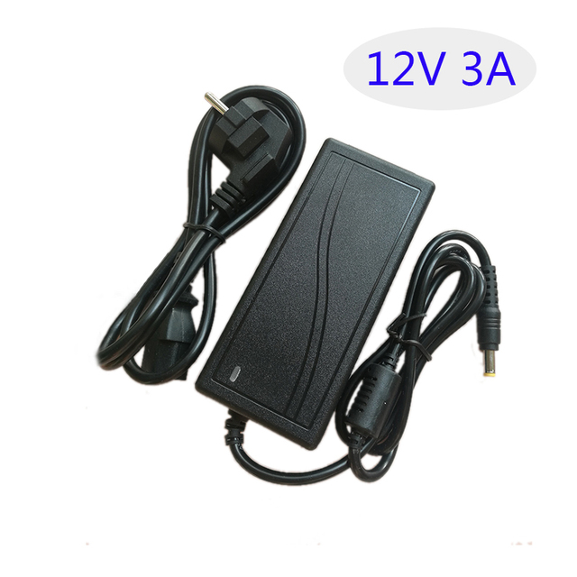 AC 220V Led Switching Power Supply AC/DC Adapter 12V 3A 36W Table Type AU