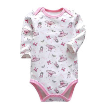 Tender babies newborn bodysuit baby bebes clothes long sleeve cotton printing infant clothing 0-24 Months