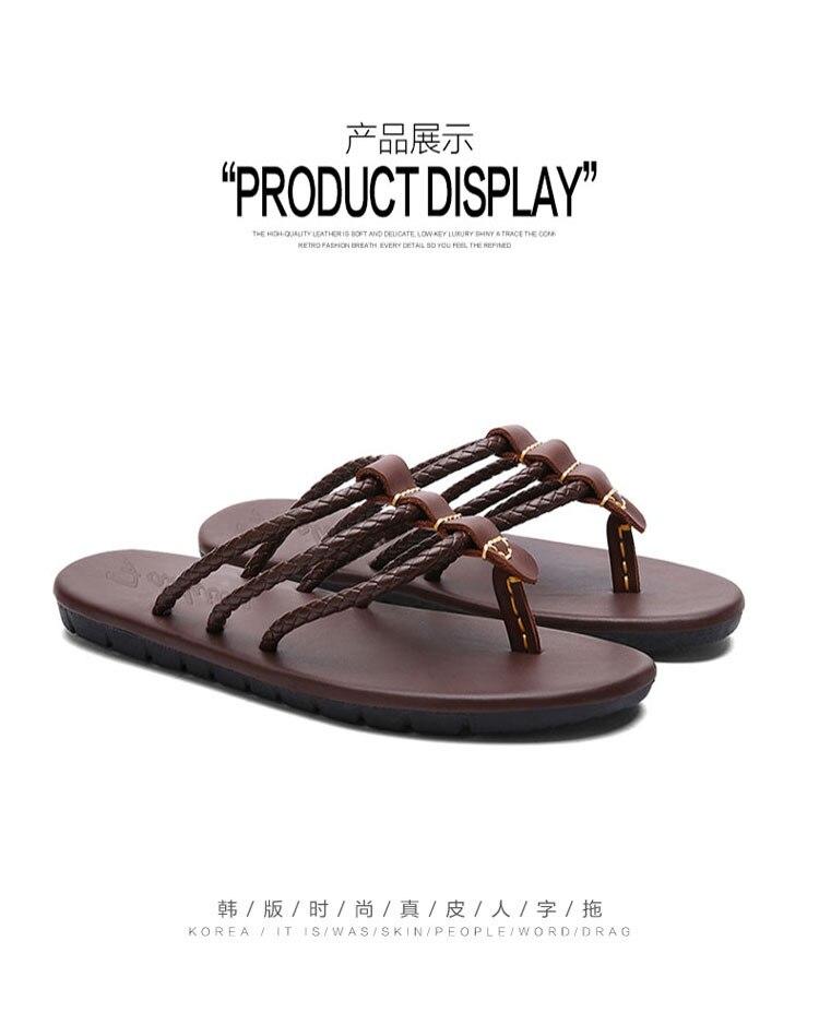 homens verão moda praia flip flops masculino