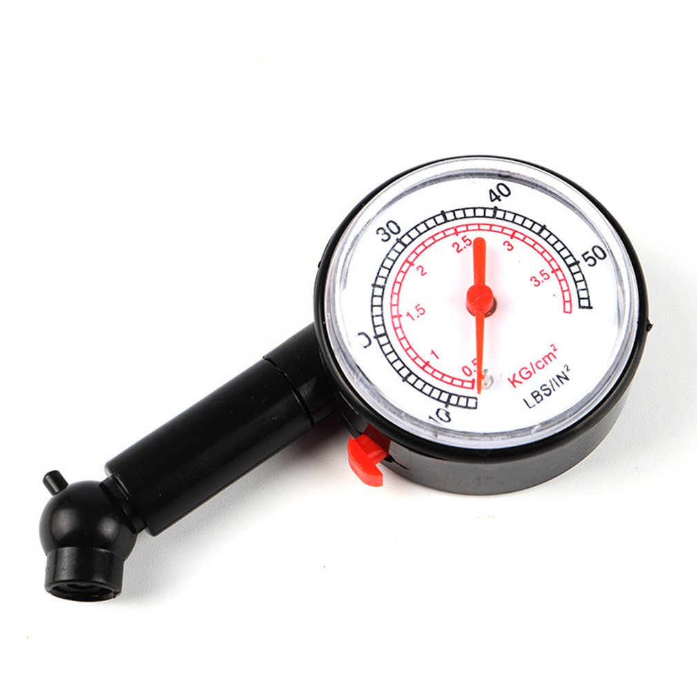 Portable Car Tire Pressure Gauge Meter Table Car Tire Pressure Test For Auto Motorcycle Vehicle Security Alarm Tool