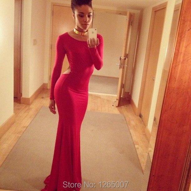 Orange Tight Long Prom Dresses – Dresses for Woman