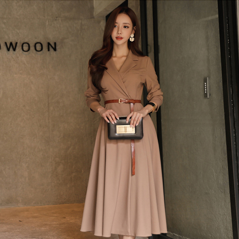 Fashion women comfortable warm long coat OL new arrival high quality temperament outerwear thick holiday outdoor trend   trench